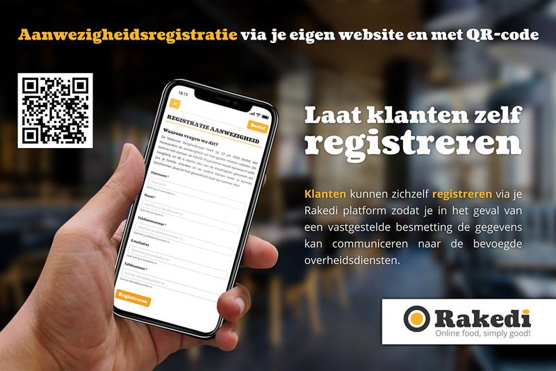 Aanwezigheidsregistratie via je eigen website en met QR-code
