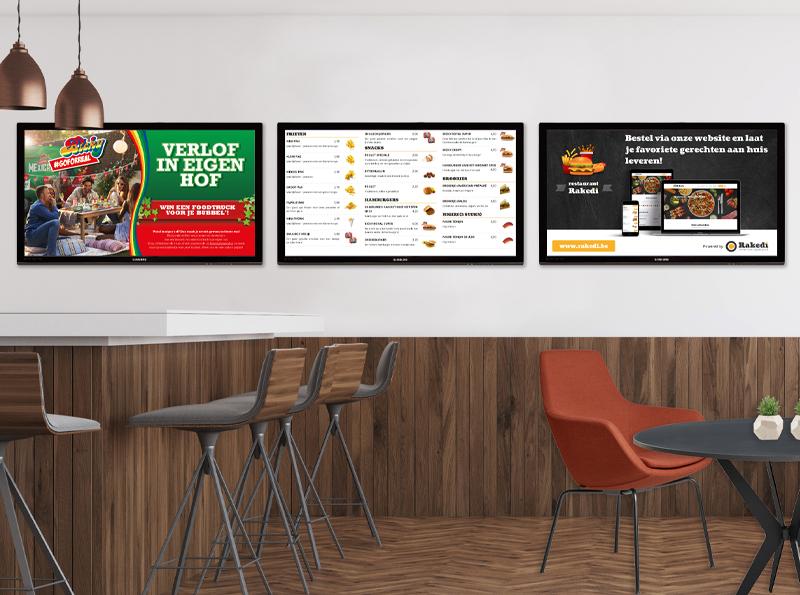 Digitale prijslijsten en menuborden in je zaak!