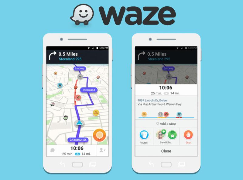 Integratie Waze in de Rakedi, thuisleveren nu nog gemakkelijker!