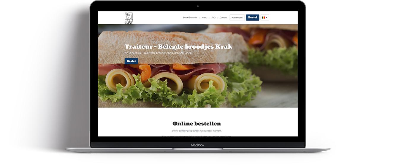 Traiteur - Belegde broodjes Krak