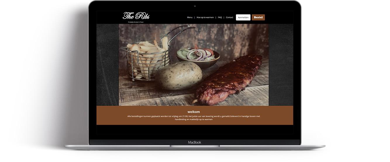 Frit & Grillshop - the ribs